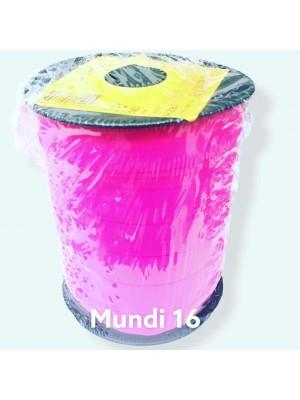VIÉS DOBRAVEL - MUNDI 16 - COR NEON - ROLO 50 METROS