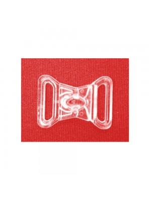 Fecho AP - 40/13 plástico - transparente - 100 UNIDADES