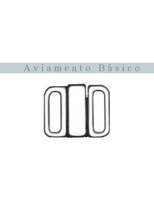 FECHO NIQUEL 10mm **COM TRAVA**  - 10 PEÇAS