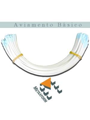 Arco Metal MAIS ABERTO (3800) - pacote c/ 50 pares - ESCOLHA SEU TAMANHO!