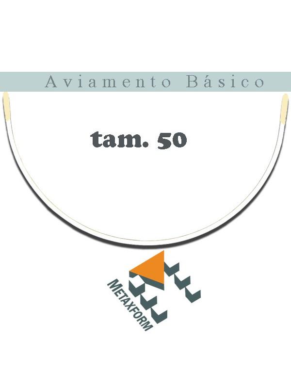 Arco Metal Aberto - pacote c/ 50 pares - ESCOLHA SEU TAMANHO