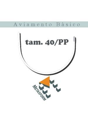 """Arco Metal Fechado - pacote c/ 50 pares - ESCOLHA TAMANHO ANTES DE CLICAR EM """"COMPRAR"""""""